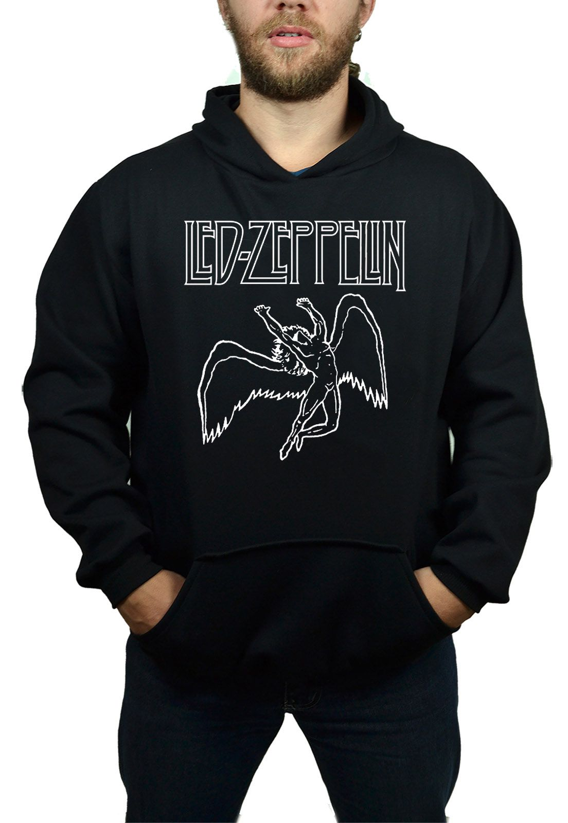 Moletom Led Zeppelin - Anjo  - HShop