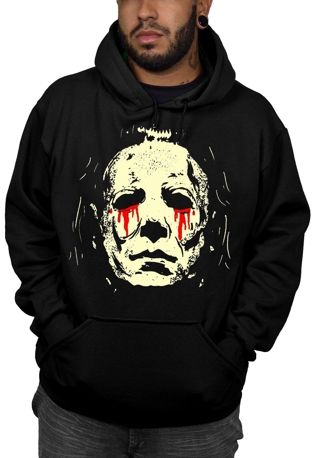 Moletom Michael Myers Halloween - Preto  - HShop