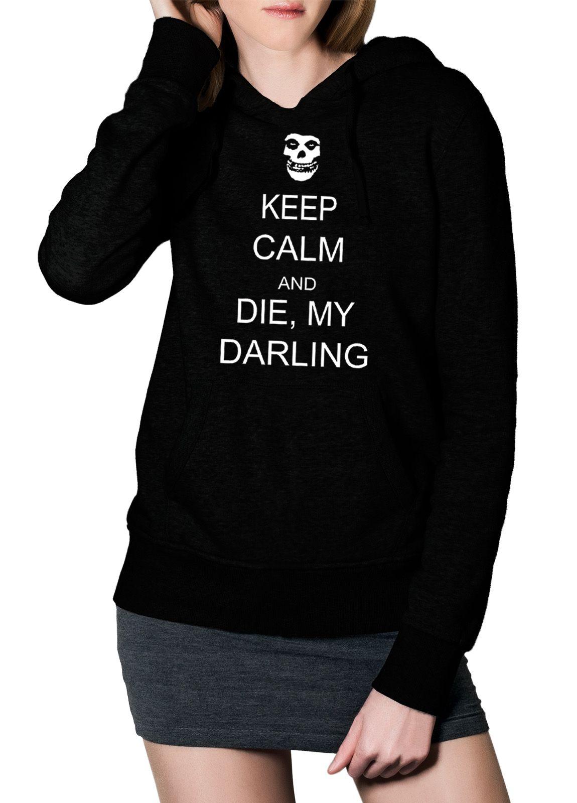 Moletom Misfits Die Die My Darling - 001  - HShop