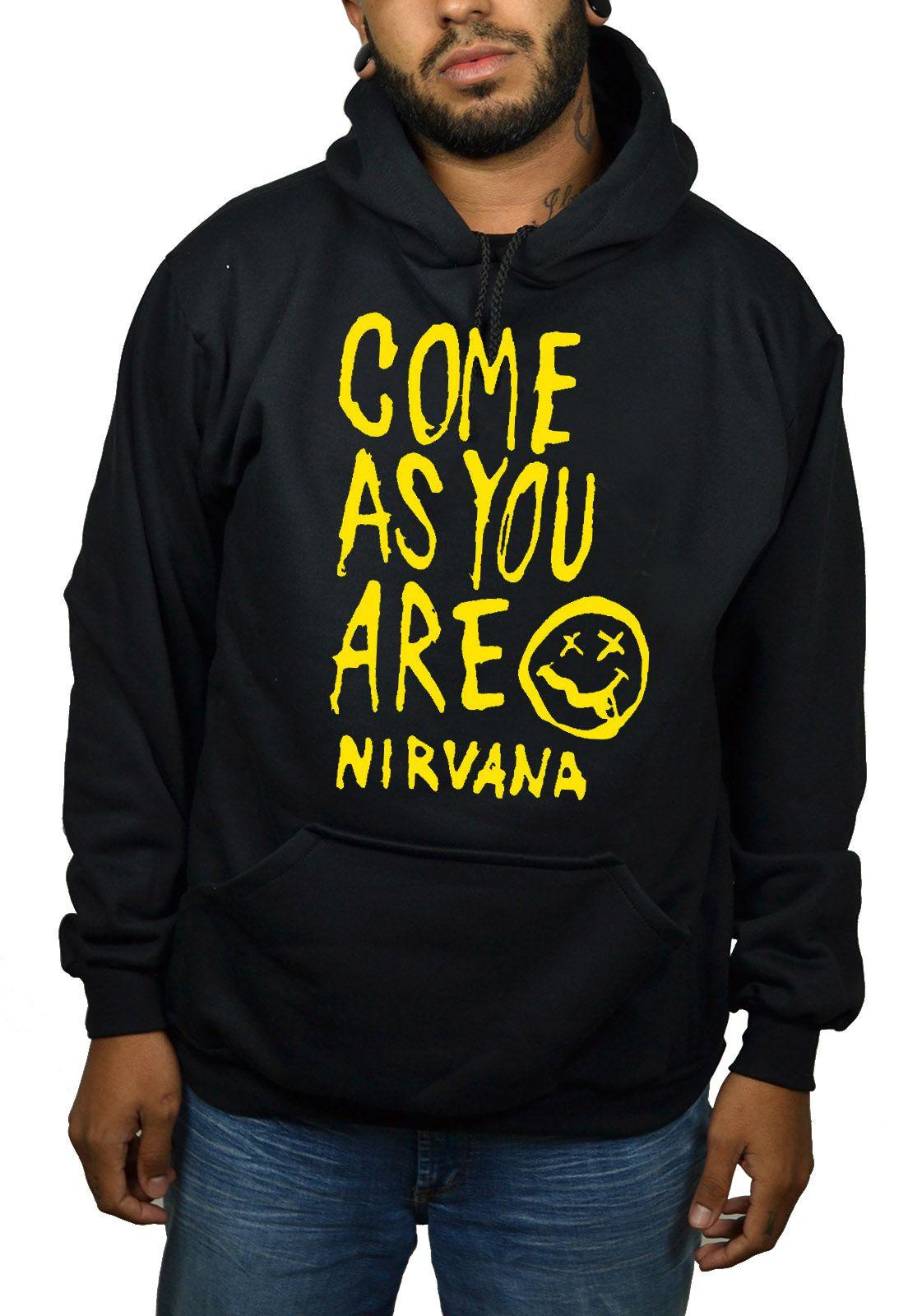 Moletom Nirvana  - HShop
