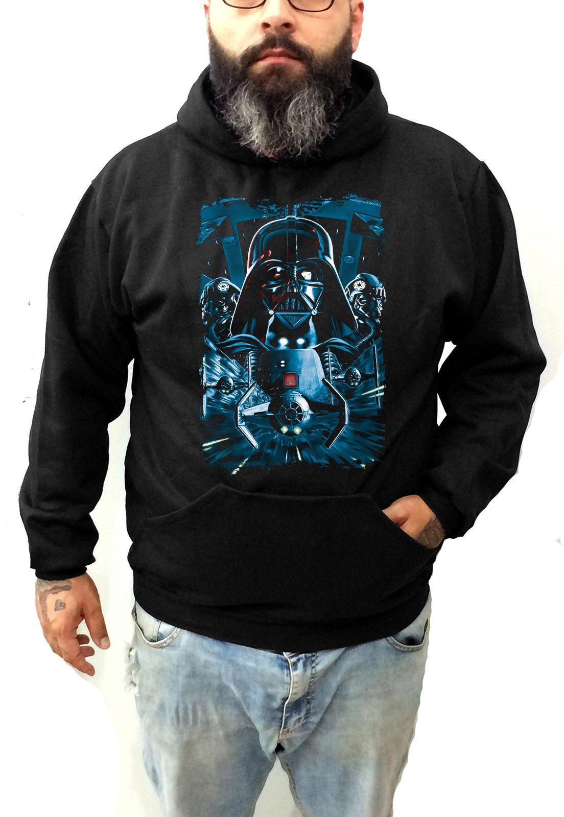 Moletom Plus Size Darth Vader Tamanho Grande  - HShop