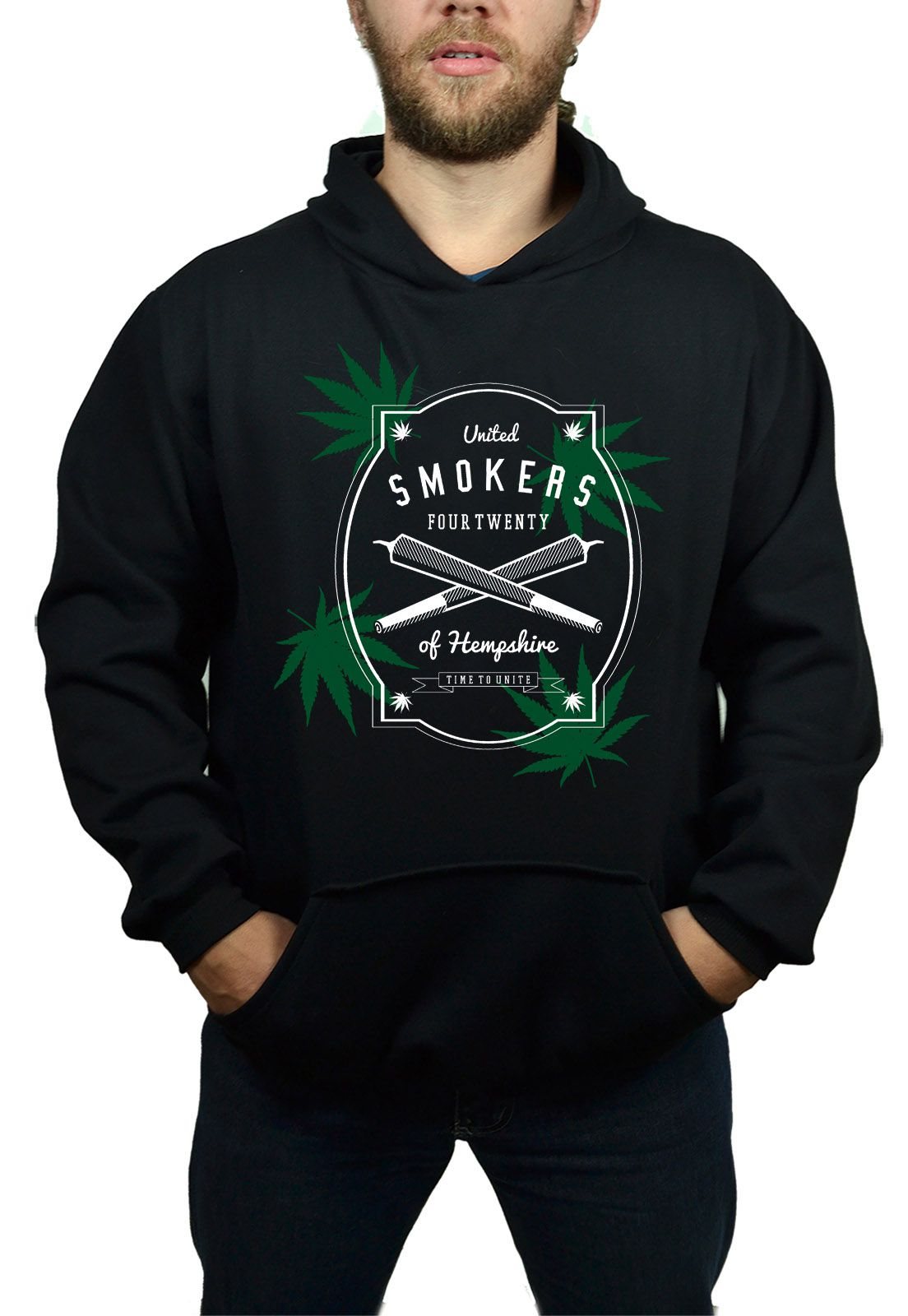 Moletom BUK United Smokers - Preto  - HShop
