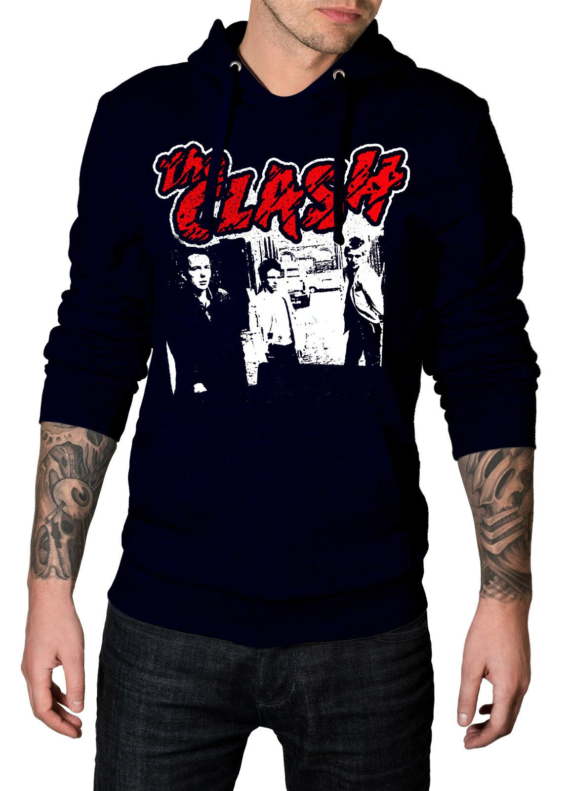 Moletom The Clash Banda - 077  - HShop