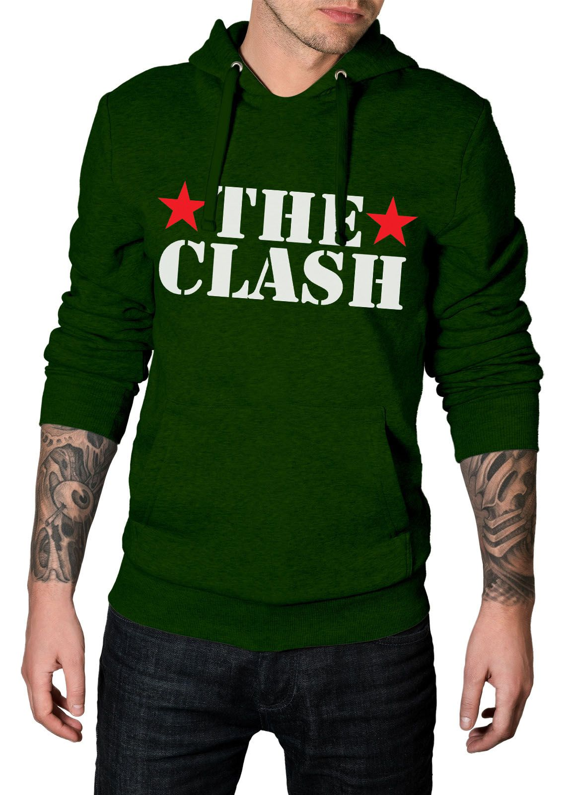 Moletom The Clash Star - 020 - HShop