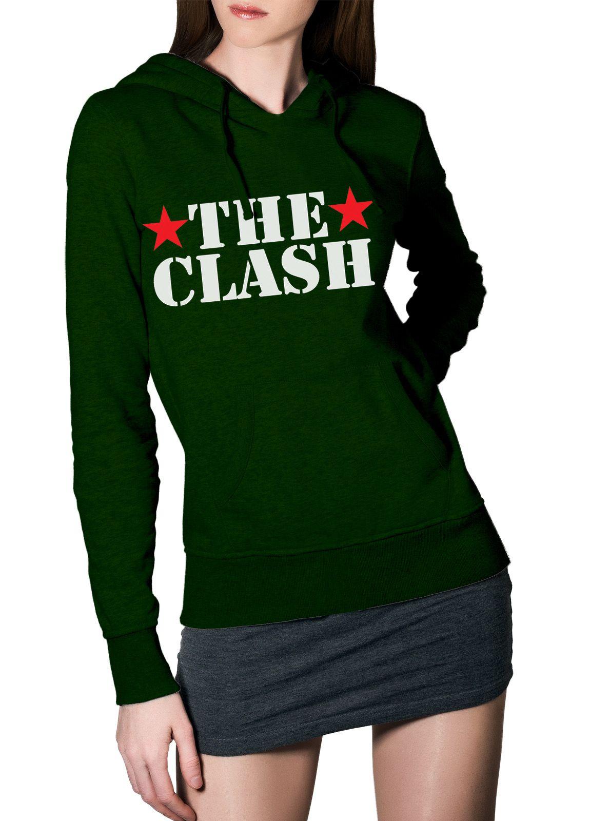 Moletom The Clash Star - 020  - HShop
