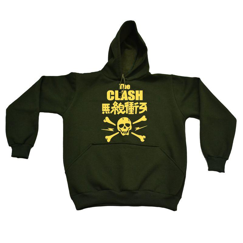 Moletom The Clash Verde Musgo  - HShop