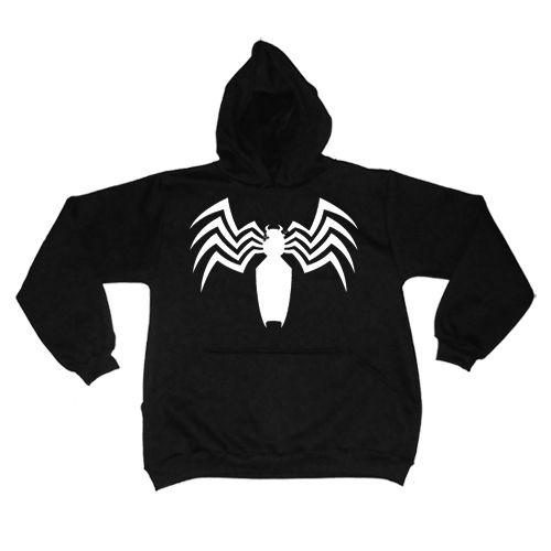 Moletom Venom Preto  - HShop
