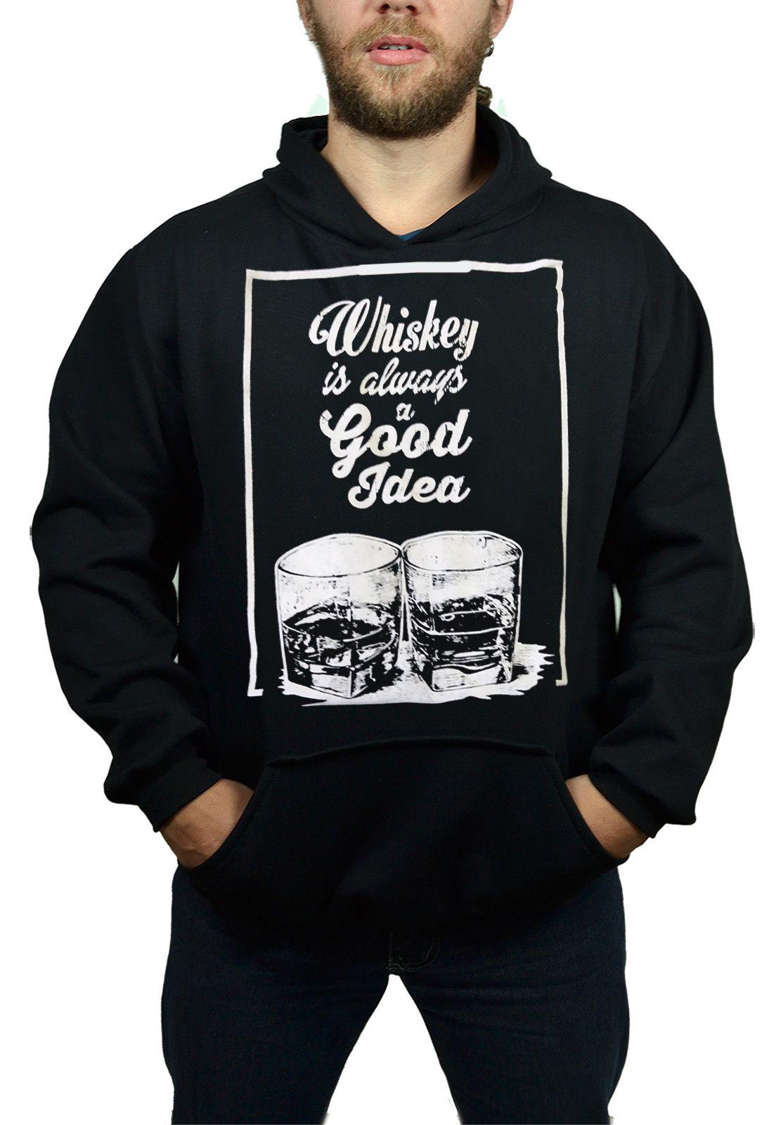 Moletom Buk Whiskey - Tamanho M  - HShop