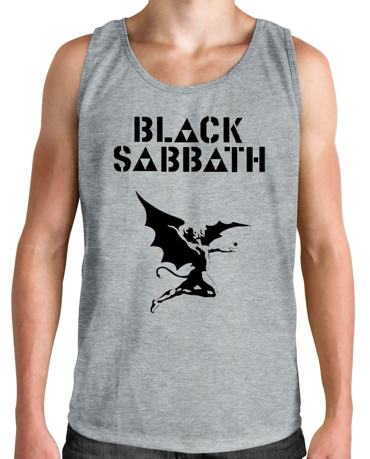 Regata Black Sabbath - Demon - Cinza Mescla  - HShop