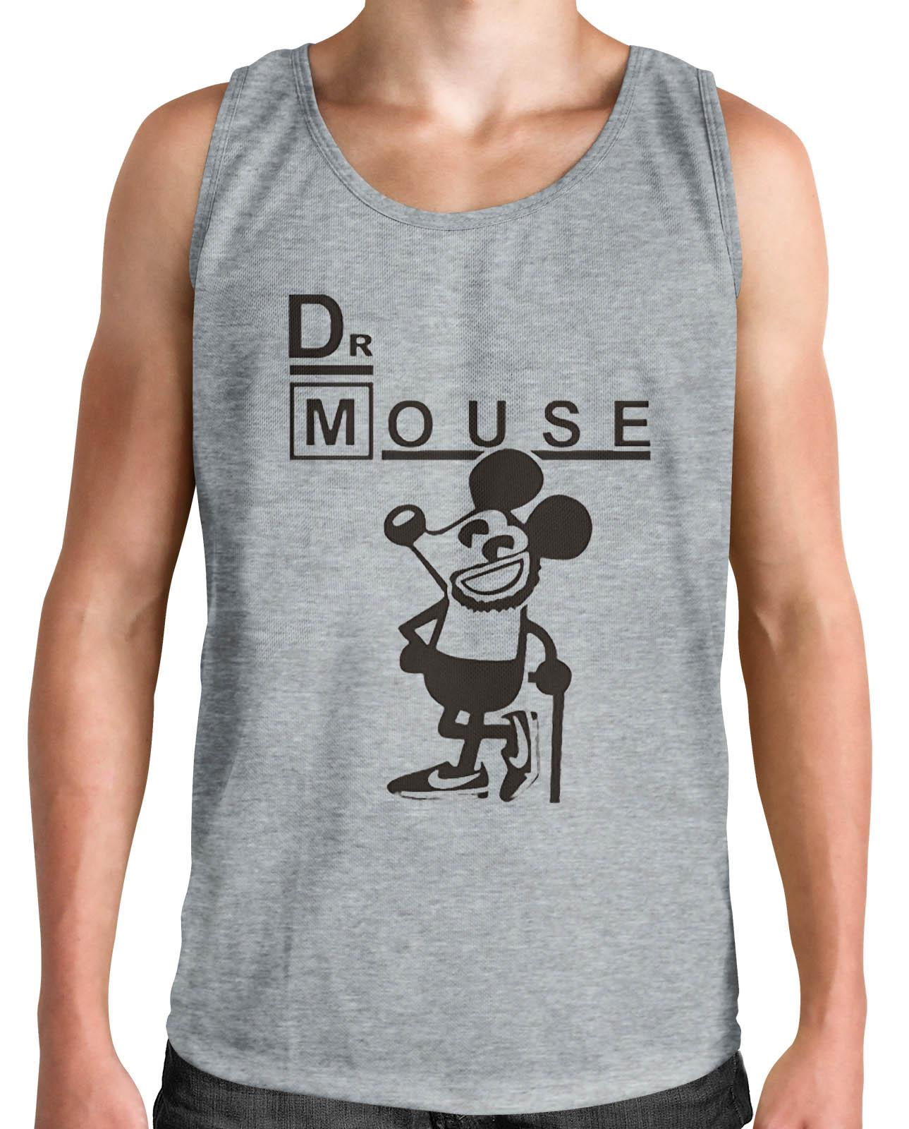 Regata HShop Dr Mouse Cinza  - HShop