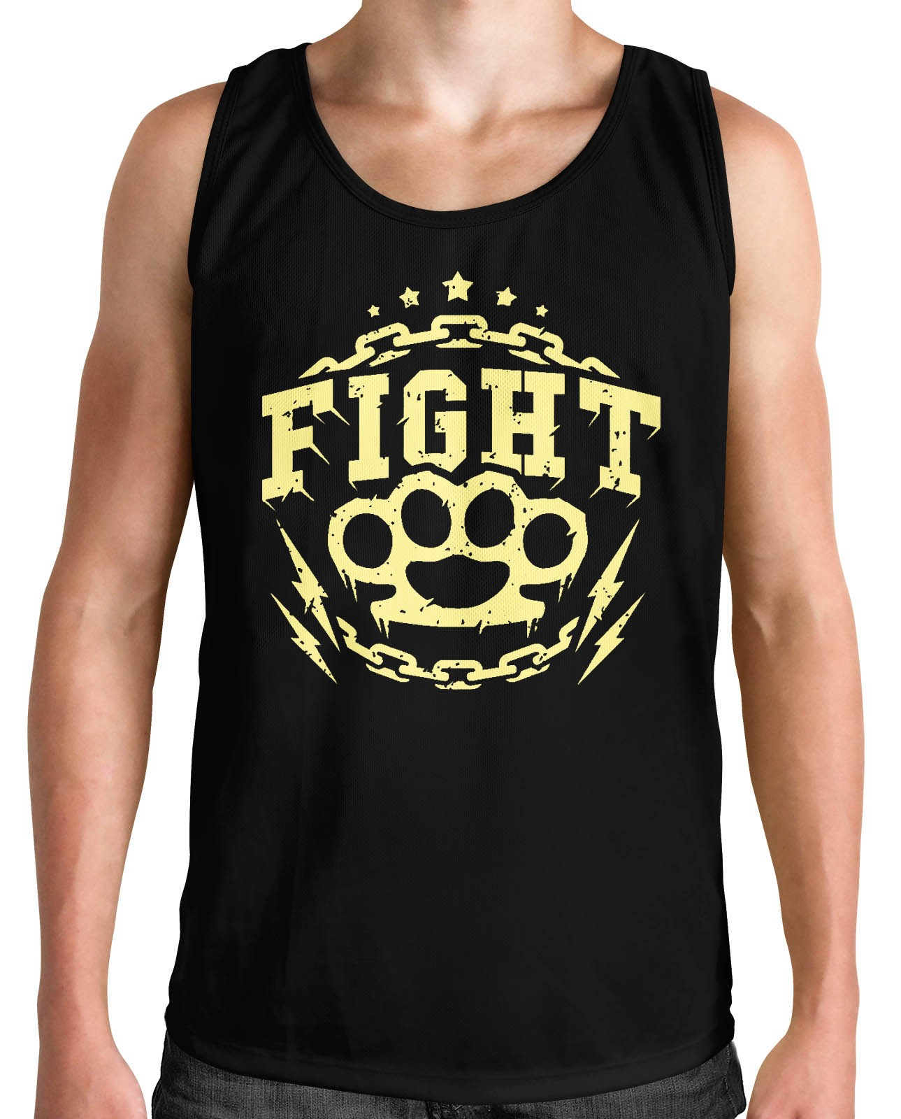 Regata HShop Fight! Preto  - HShop