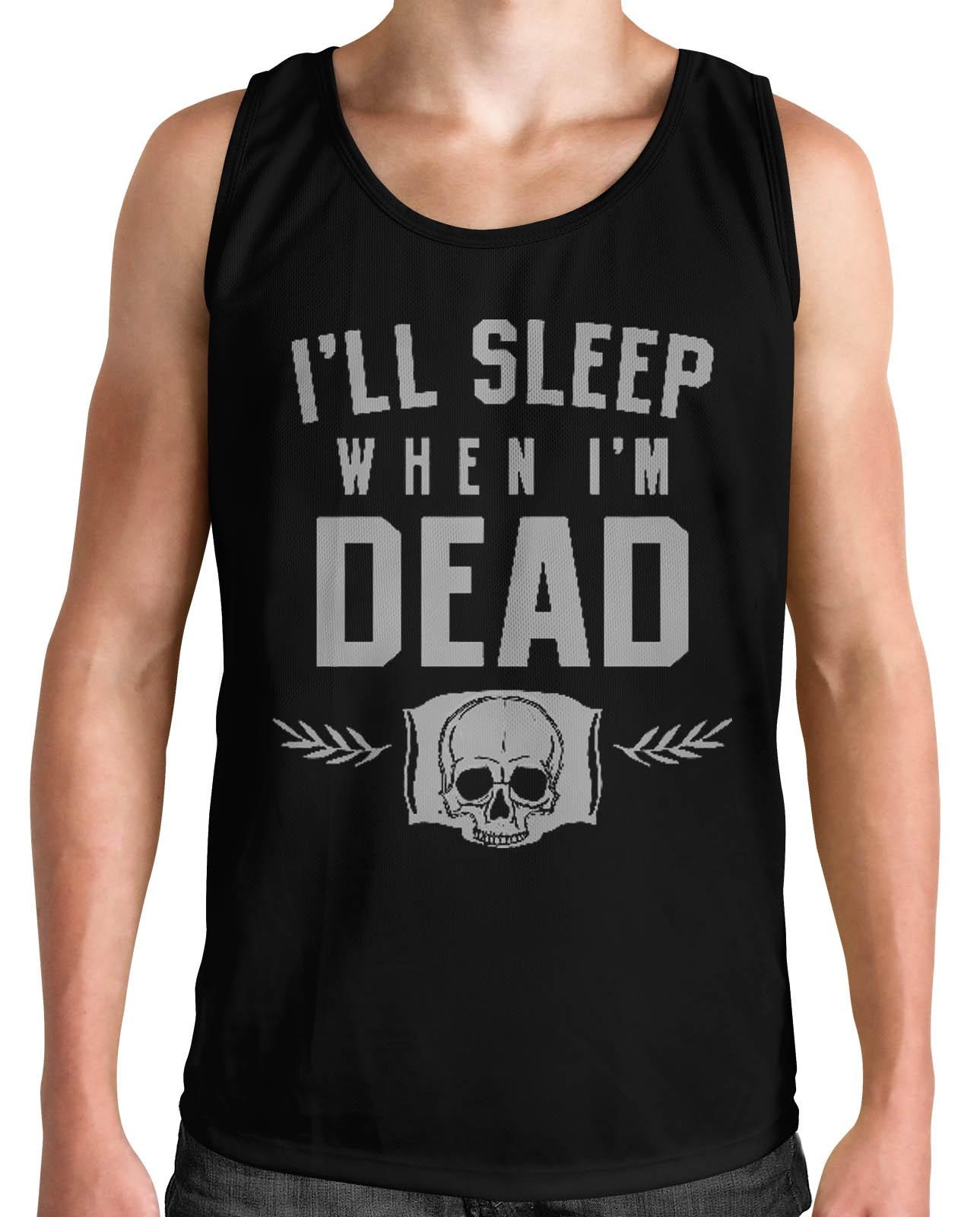 Regata HShop Sleep When Dead Preto  - HShop