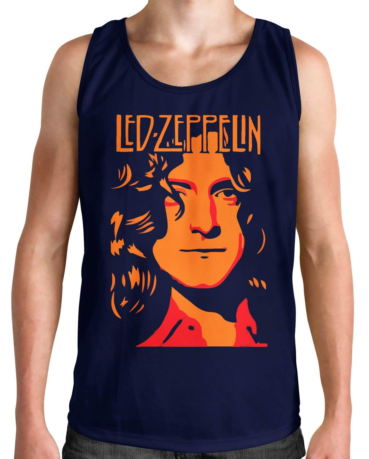 Regata Led Zeppelin - Escolha a Cor  - HShop