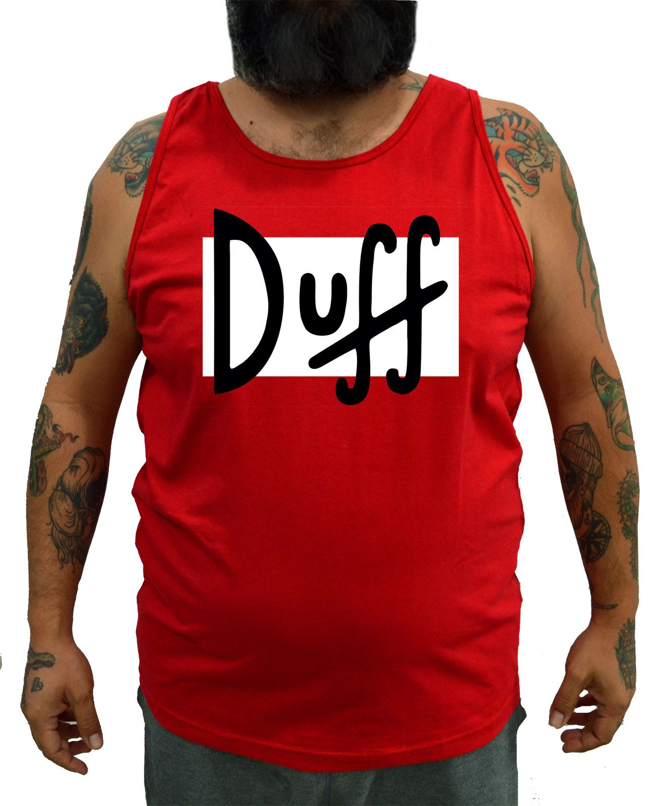Regata Plus Size Duff Cerveja - Tamanho XG  - HShop