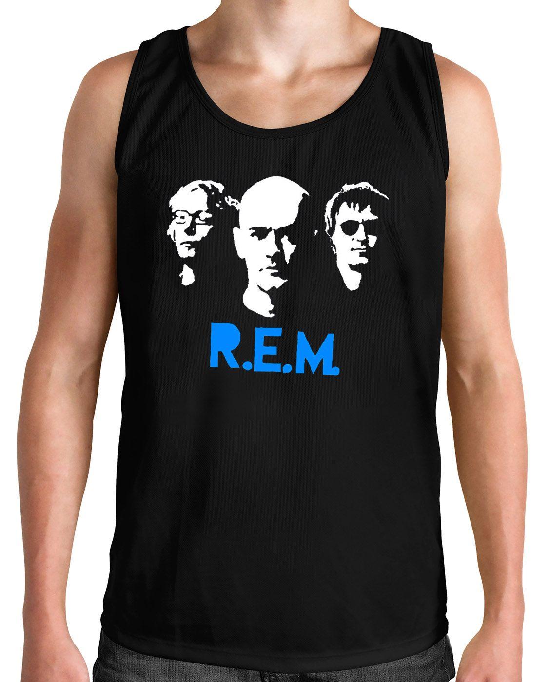 Regata R.E.M. - Preto  - HShop
