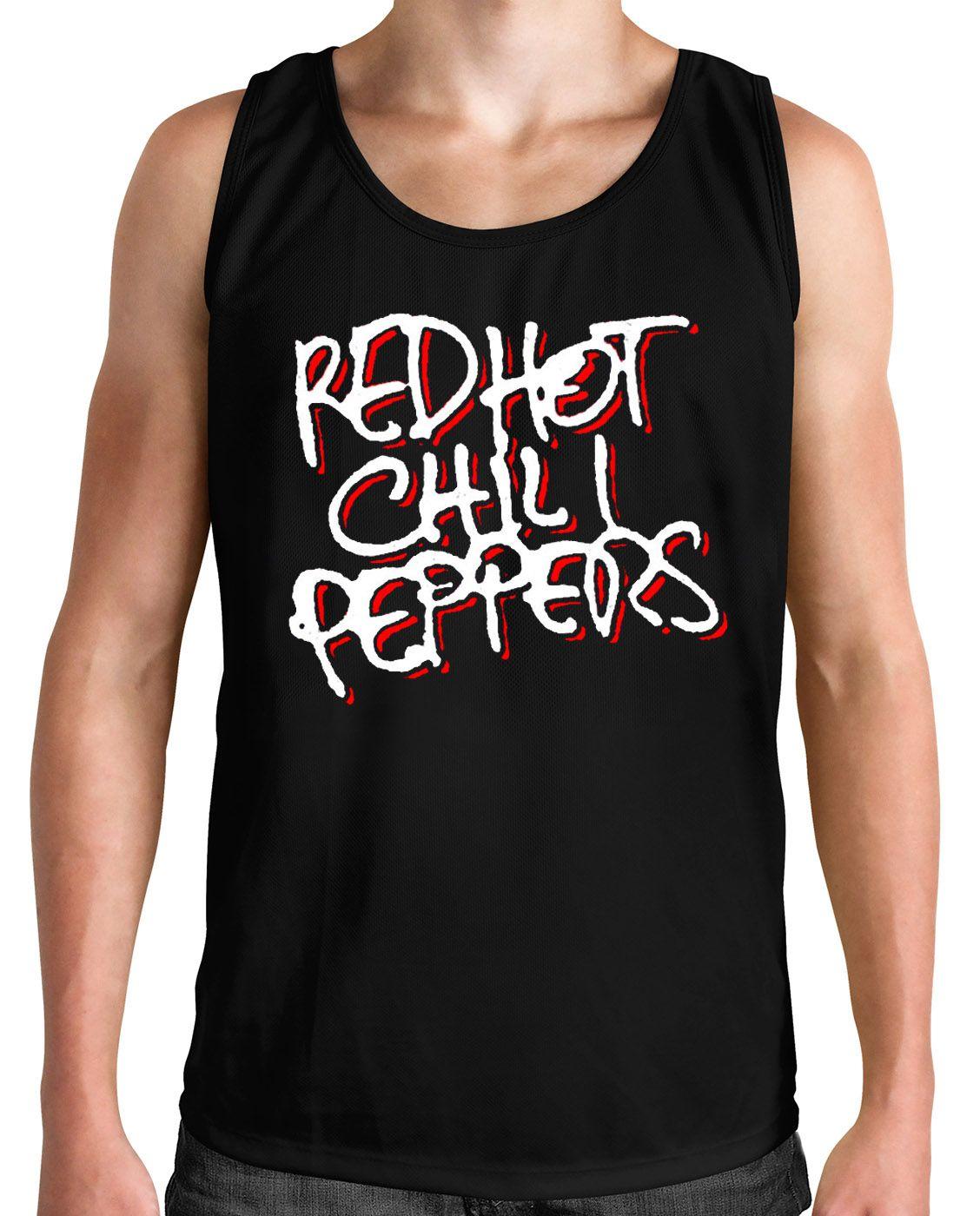 Regata Red Hot Chili Peppers - Preto  - HShop