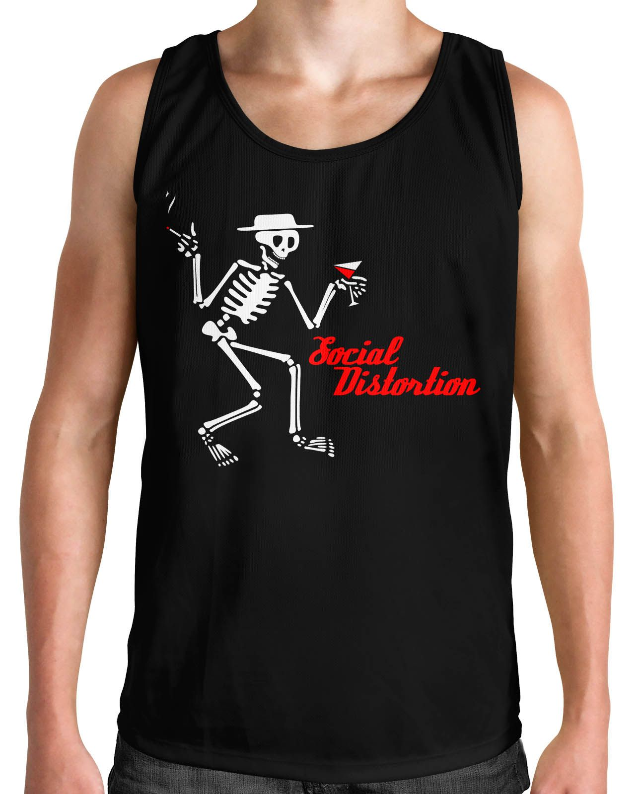 Regata Social Distortion - Clássica  - HShop