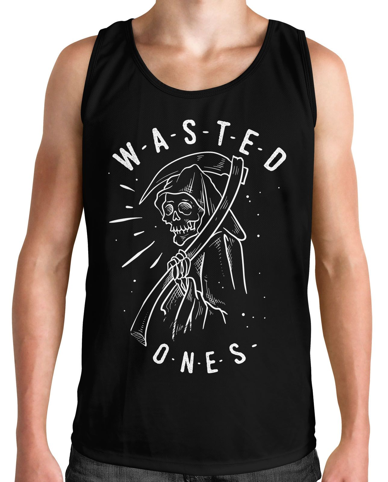 Regata Wasted Ones - Preto - HShop