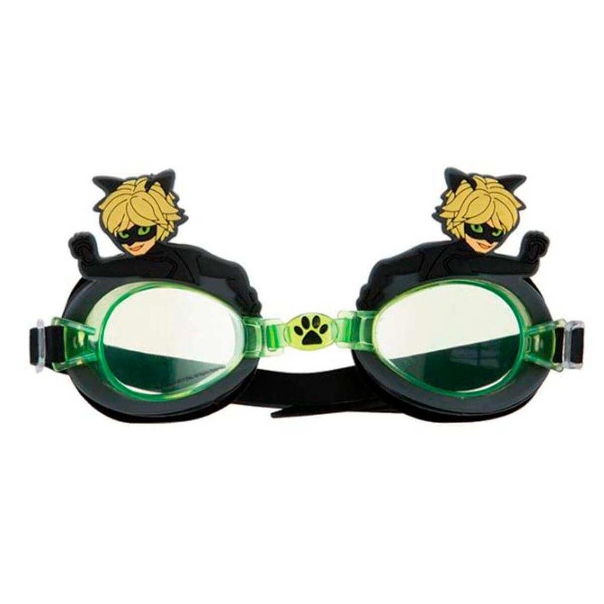 Aê Comprou! Óculos De Natação Infantil CAT NOIR MIRACULOUS ART BRINK 27d051d8ca