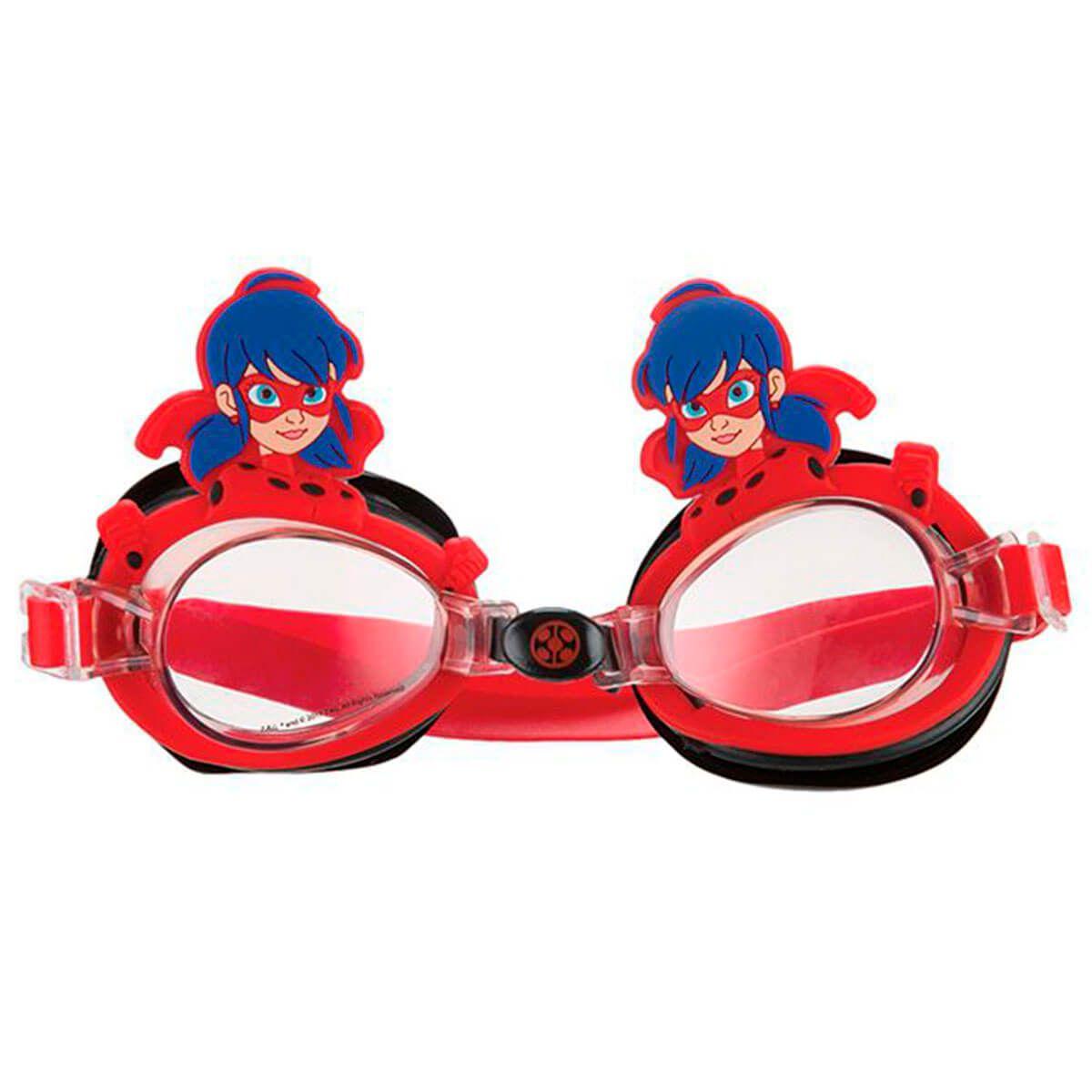 Aê Comprou! Óculos De Natação Infantil LADYBUG MIRACULOUS MS0N01 ART ... 504cf95630