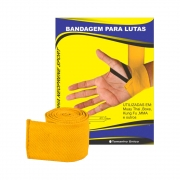 Bandagem Elástica Amarela para Lutas RMC