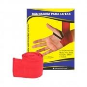 Bandagem Elástica Vermelha para Lutas RMC