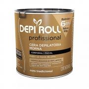 Cera Depilatória Morna Tradicional 600g DepiRoll
