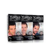 Creme de Coloração para Cabelos Masculino 100ml Yamá