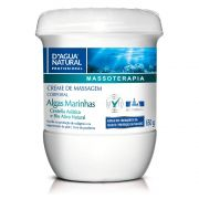 Creme De Massagem Algas Massoterapia 650g D'Agua Natural