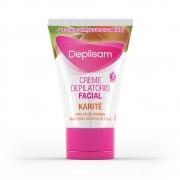 Creme Depilatório Facial Karité 50g Depilsam