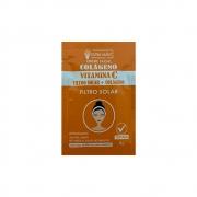 Creme Facial Vitamina C Antioxidante com Colágeno 8g