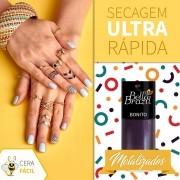 Esmalte Metalizado Bonito 6 Unidades - Bella Brazil