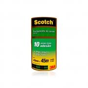 Fita de Empacotamento de PVC 45mm x 45m 4 Rolos Scotch 3M