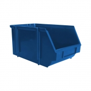 Gaveta Plástica Bin N3 Azul Cera Fácil