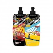 Kit Infantil Shampoo e Condicionador Carros  Kanechom
