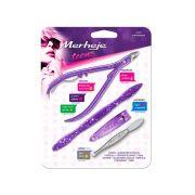Kit Manicure Teens Roxo Home Care Merheje