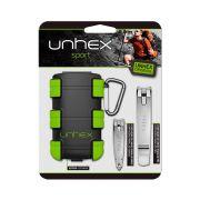 Kit Unhex Cortadores de Unha + Estojo Verde Merheje