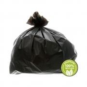 Saco de Lixo 0,025mm 40 Litros Preto 100un