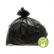 Saco de Lixo Reforçado 250 Litros Preto 100un