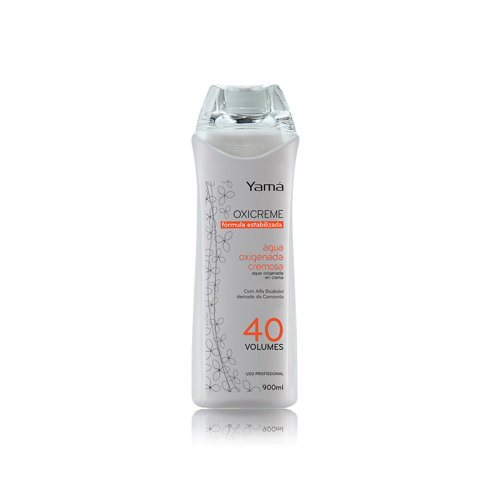 Água Oxigenada Cremosa 40 Volumes 900ml Yamá