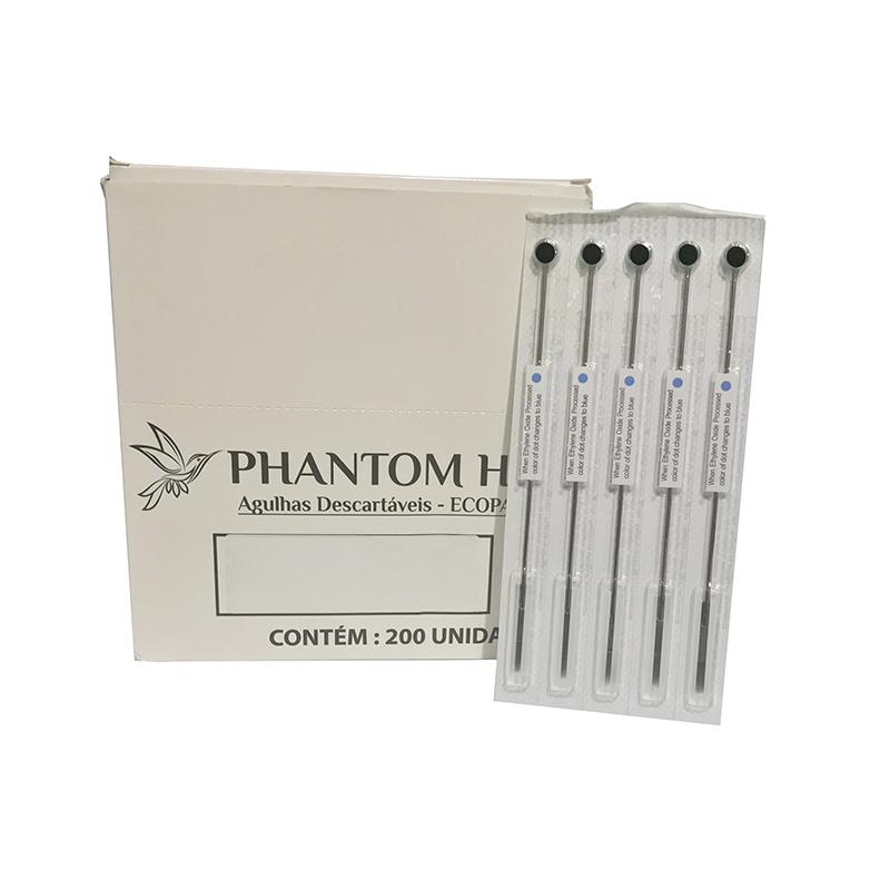 Agulha 1009RL Traço Para Tatuagem 5un Phantom HK