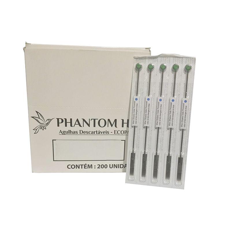 Agulha 1207M1 Pintura Para Tatuagem 5un Phantom HK