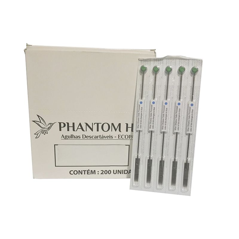 Agulha 1215M1 Pintura Para Tatuagem 5un Phantom HK