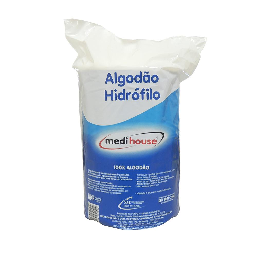 Algodão Hidrófilo 500g Medi House
