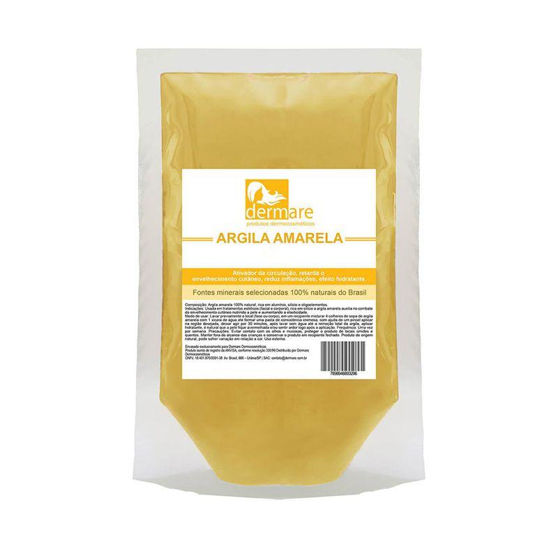 Argila Amarela 1kg Dermare