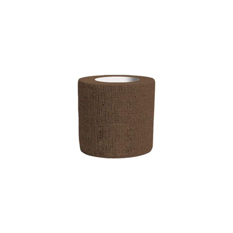 Bandagem Atadura Elástica Marrom 5cmx4,5mt Phantom HK