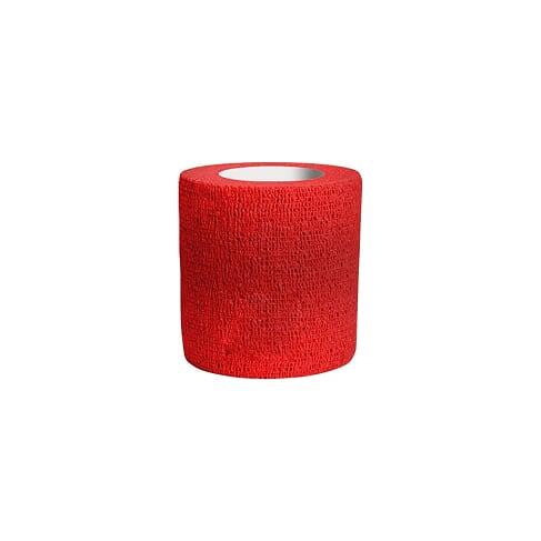 Bandagem Atadura Elástica Vermelho 7,5cmx4,5mt Phantom HK