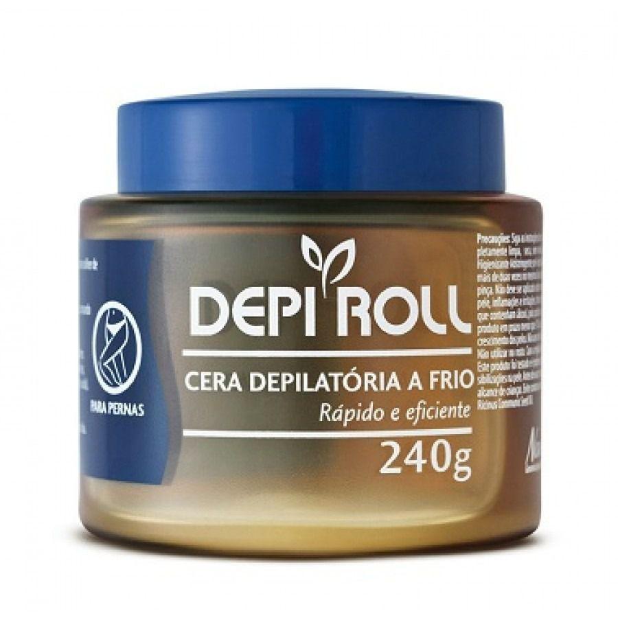 Cera Depilatória Fria Tradicional 240g DepiRoll