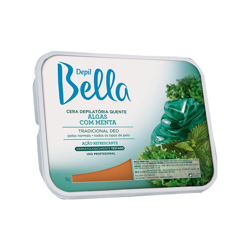 Cera Depilatória Quente 1kg Algas Depil Bella