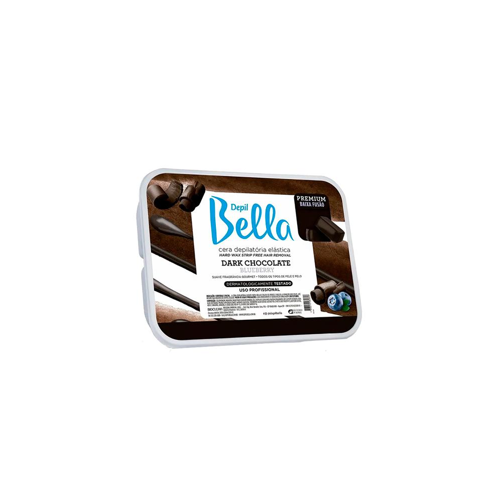Cera Depilatória Quente 250g Dark Chocolate Depil Bella